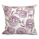 Online Designer Combined Living/Dining Swan Valley Blooms Antique Flowers Print Throw Pillow