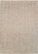 Online Designer Living Room Surya Jax Light Gray & Burnt Orange Rug 7.6' x 10.6'