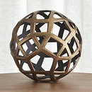 Online Designer Living Room Geo Large Decorative Metal Ball