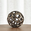 Online Designer Living Room Geo Small Decorative Metal Ball