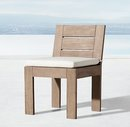 Online Designer Living Room Marbella Teak Side Chair Cushion