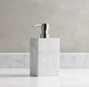 Online Designer Bathroom CARRARA MARBLE SOAP DISPENSER
