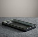 Online Designer Bathroom Pharmacy Smoke Glass Tray
