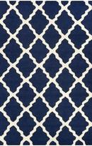 Online Designer Living Room Homespun Moroccan Trellis Rug