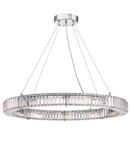 Online Designer Dining Room Crystal glass pendant light