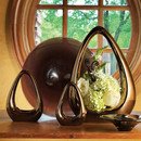 Online Designer Dining Room Vase (Bronze)- Medium