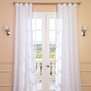 Online Designer Living Room Sheer curtain WB - white colour