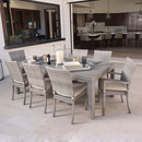 Online Designer Living Room Sheldon 9 Piece Dining Set with Cushions by Wade Logan