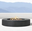 Online Designer Living Room TOPANGA NATURAL GAS ROUND FIRE TABLE