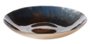 Online Designer Combined Living/Dining nova hand painted glass bowl