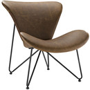 Online Designer Home/Small Office Glide Lounge Chair by Modway