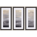 Online Designer Home/Small Office In the Distance by Loreth 3 Piece Framed Painting Print Set