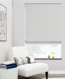 Online Designer Living Room Flat Roman Shade