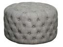 Online Designer Combined Living/Dining Lulu Round Tufted Ottoman