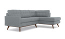 Online Designer Living Room Hopson Apartment Sectional with Bumper