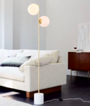 Online Designer Bedroom Sphere + Stem Floor Lamp