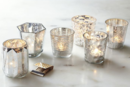 Online Designer Living Room Mercury Tealights (Set Of 6)