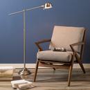 Online Designer Living Room Brushed Steel Floor Lamp