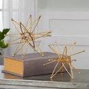 Online Designer Living Room Gold Atom (Set of 2)