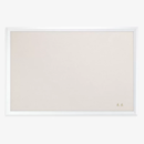 Online Designer Home/Small Office Cork Linen Surface Wood Frame Bulletin Board
