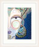 Online Designer Living Room 'Kalapi' Framed Acrylic Painting Print