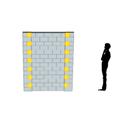 Online Designer Bedroom 6x7 Wall Kit