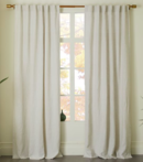 Online Designer Living Room Belgian Flax Linen Curtain