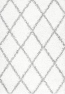Online Designer Living Room COLONA WHITE/GRAY AREA RUG