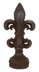 Online Designer Hallway/Entry Fleur-de-Lis Table Top Décor