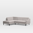 Online Designer Living Room Drake 2-Piece Terminal Chaise Sectional