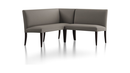 Online Designer Combined Living/Dining Miles Small Right Facing Corner Banquette
