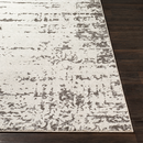 Online Designer Combined Living/Dining Ivory Gray Rug