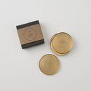 Online Designer Living Room Brass Coaster Set