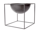 Online Designer Living Room Metal Planter - Black Small