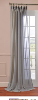 Online Designer Living Room Abbott Sheer Drape