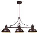 Online Designer Living Room Westlake Village 3-Light LED Kitchen Island Pendant