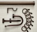 Online Designer Combined Living/Dining CB Matte Bronze Rod Set