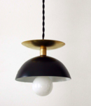 Online Designer Kitchen Black Brass Modern Pendant Lamp