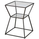 Online Designer Bedroom Black Iron Side Table