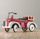 Online Designer Bedroom Vintage Fire Truck Scoot