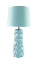 Online Designer Combined Living/Dining Light Blue Table lamp