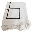 Online Designer Studio Moroccan Pom Pom Blanket