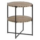 Online Designer Kitchen Double Layered Round Accent Table