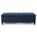 Online Designer Living Room Amalfi Upholstered Storage Bench