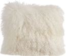 Online Designer Living Room Becky Mongolian Lamb Fur Wool Throw Pillow