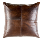 Online Designer Combined Living/Dining Solid Leather  Pillow