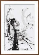 Online Designer Bathroom Black And White Abstract Brush Painting