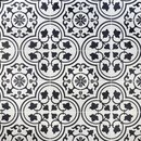 Online Designer Bathroom Cascais White Ornate 9x9 Matte Porcelain Tile
