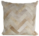 Online Designer Living Room Dakota Hair Throw Pillow