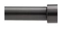 Online Designer Living Room Umbra® Cappa 120 to 180-Inch Adjustable Window Curtain Rod in Brushed Black